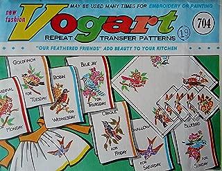 Vintage Vogart Iron-On Transfer Patterns