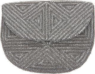 From St Xavier Women's Yale Clutch, Silver, One Size