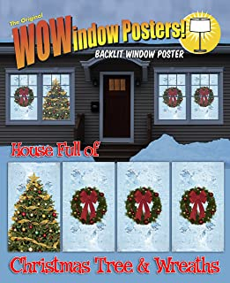 Best christmas window posters Reviews