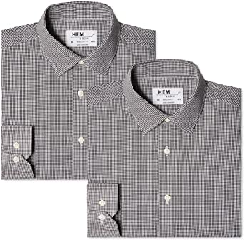 find. Men's 2 Pack Regular Shirt Formal Shirt (pack of 2)
