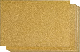 Glitter Cardstock Paper, Arts and Crafts Supplies (Gold, 8 x 12 in, 24 Sheets)