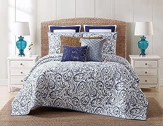 Oceanfront Resort Indienne Paisley Cotton Quilt Set, Full/Queen