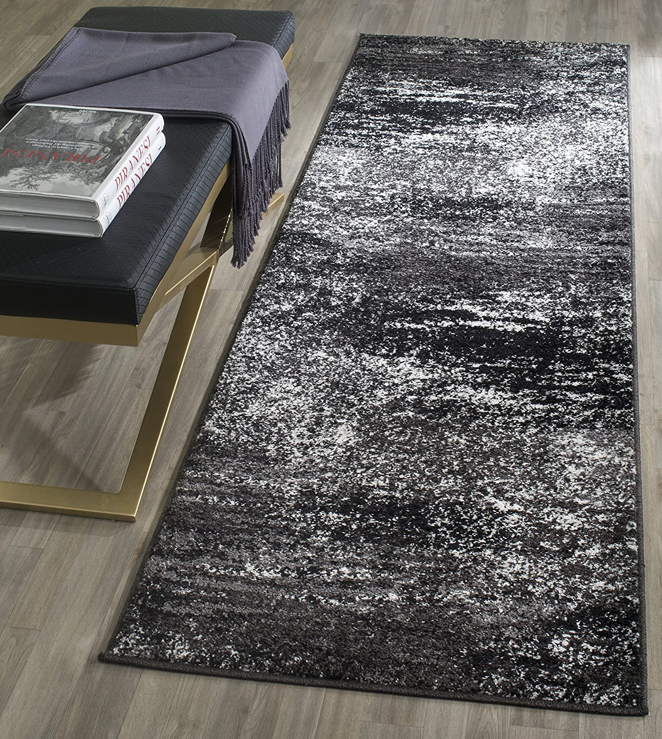 Safavieh Adirondack Very popular Collection ADR112A Abstract Max 49% OFF Modern Non-Shedd