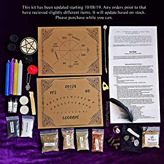 Spiritual Witch Kit, Wicca, Wicca Supplies, Witchcraft, Wiccan Altar Supplies, Wicca for beginners, witchcraft, Spell Candles, Wicca Herbs, Wicca decor, Wicca Candles
