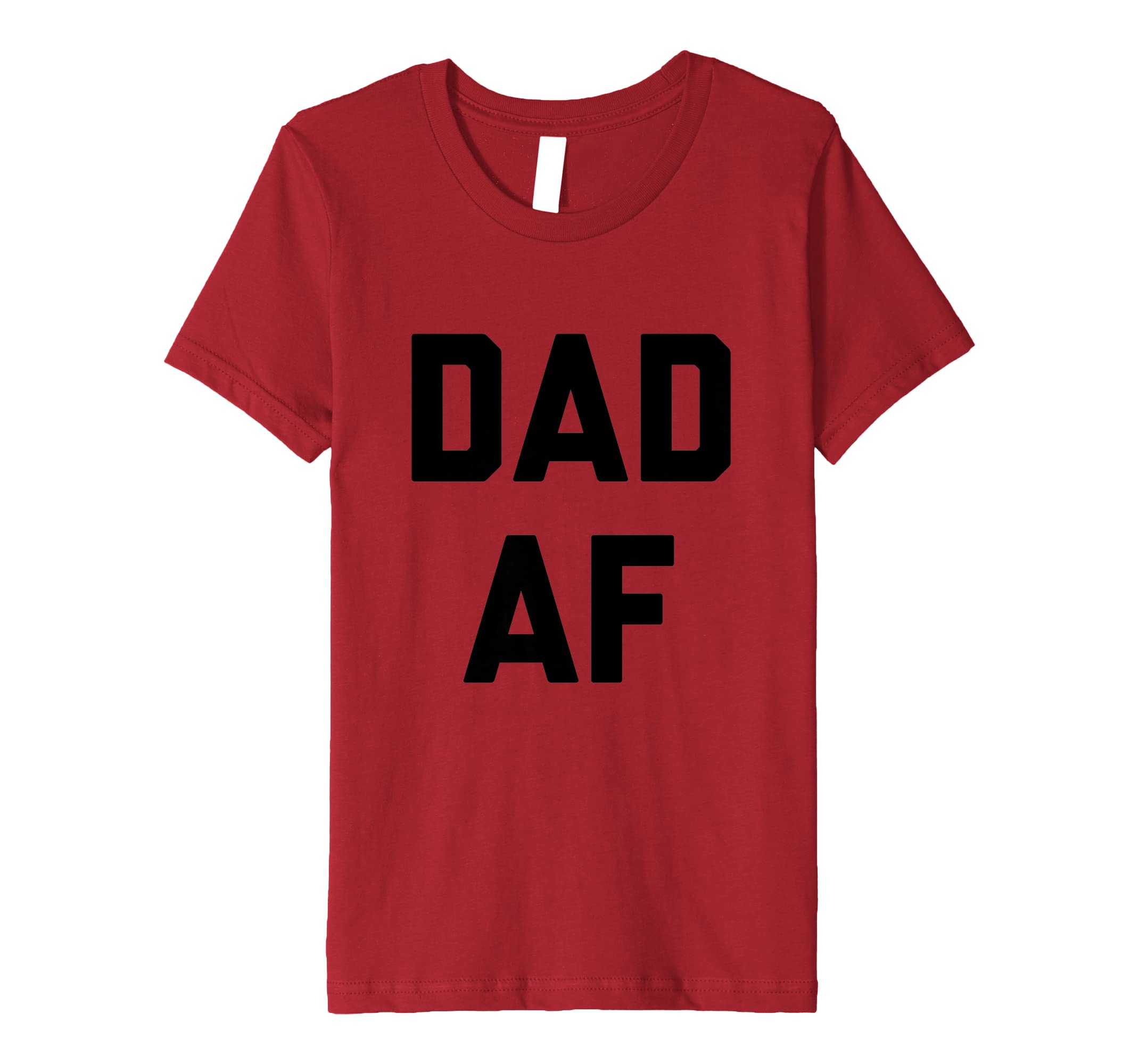 8d5f1e96 Amazon.com: Funny Dad AF T-Shirt Fathers Day Mens Gift: Clothing