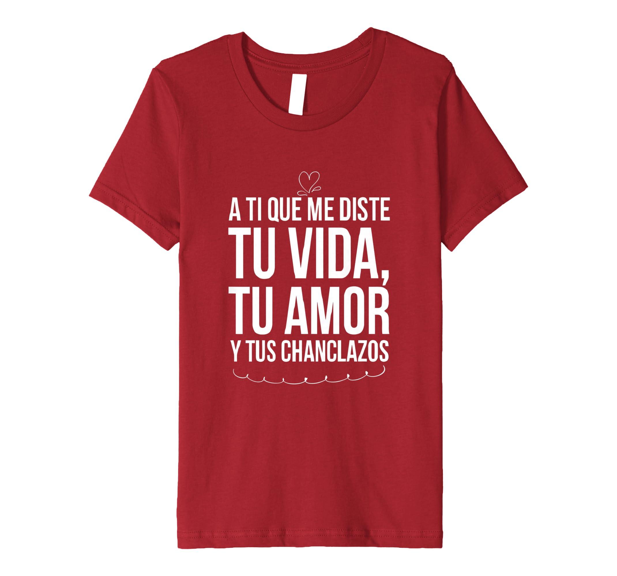 Amazon.com: Camisetas Para Madres Tu Vida tu Amor y tus Chanclazos: Clothing