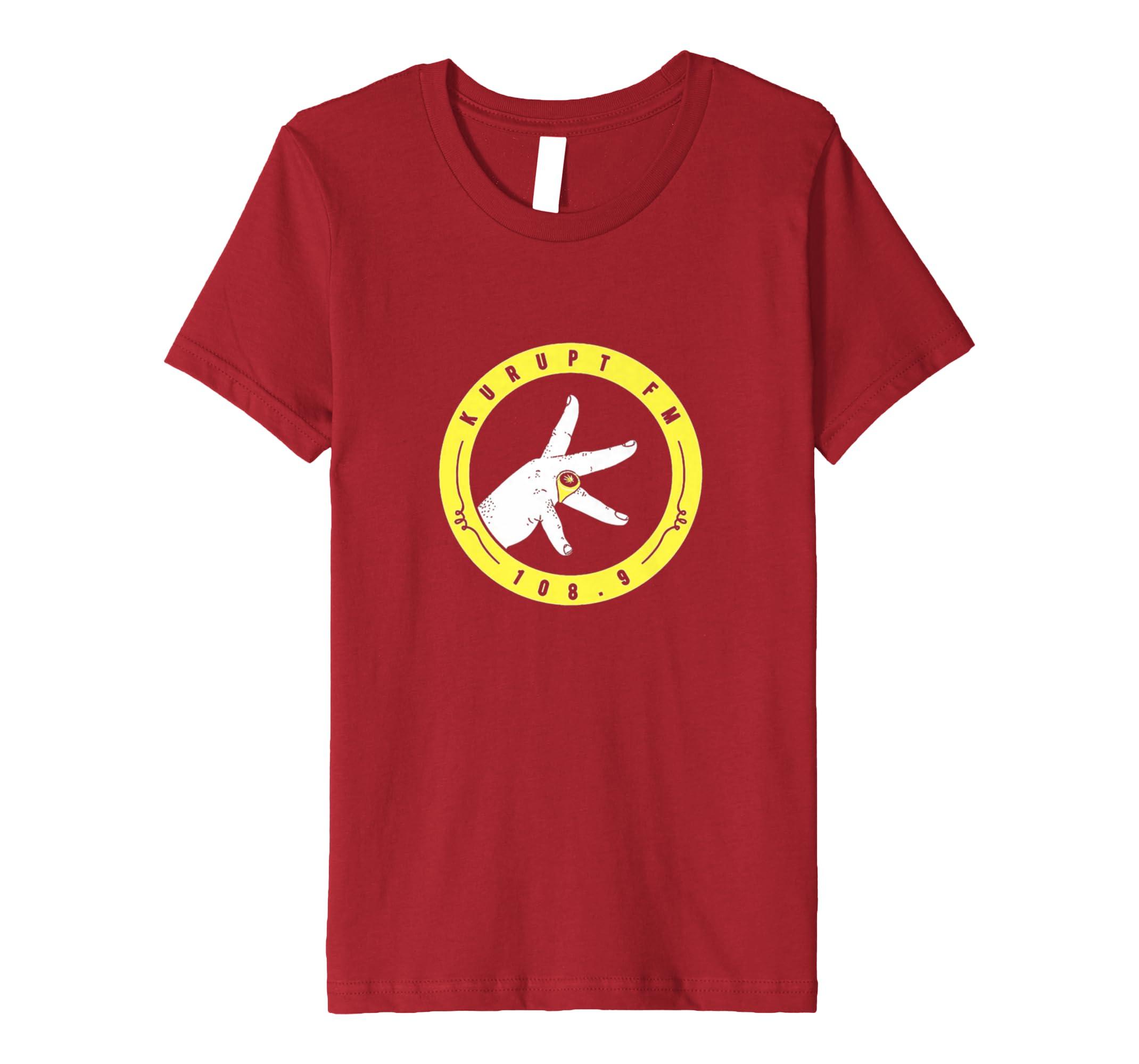 97f0434547d0 Amazon.com: Kurupt 108.9 FM Tee Shirt: Clothing