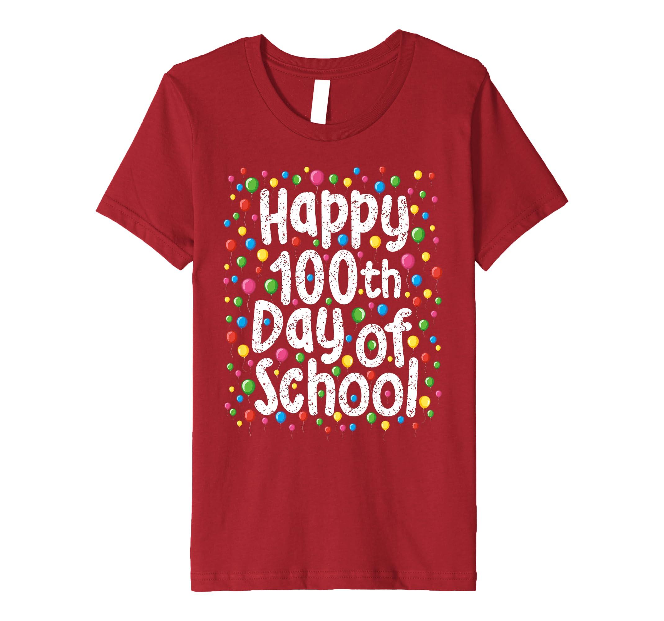 Amazon.com Happy 100Th Day of School Shirt Gift For Teacher