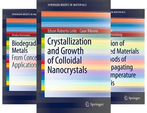 SpringerBriefs in Materials (50 Book Series)