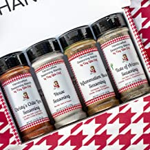 Tiny Little Chef 4-pack of Best Sellers- Taste of Arizona, Inflammation Buster, Original House and Chile Lime- 5.5oz bottles   All Natural and Handcrafted- Vegan, Keto, Paleo and Whole30 Compliant