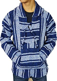 Mexican Baja Hoodie Poncho - Surfer Collection | Jergas Unisex (View Sizes, Colors)