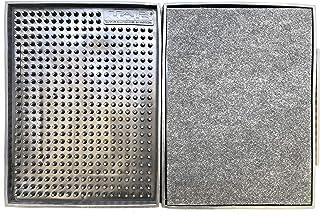 Tapetes Sanitizantes en Bloques. Tapete Desinfectante Sanitizante 2 Piezas PVC Flexible antiderrapante de 40x30 cm cada una