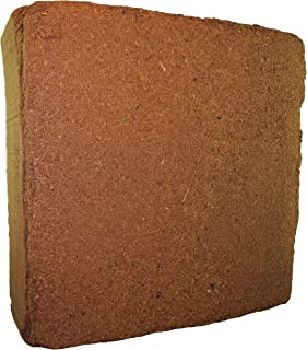MagJo Naturals Compressed Coco Fiber Peat 11-Pound Block, Medium