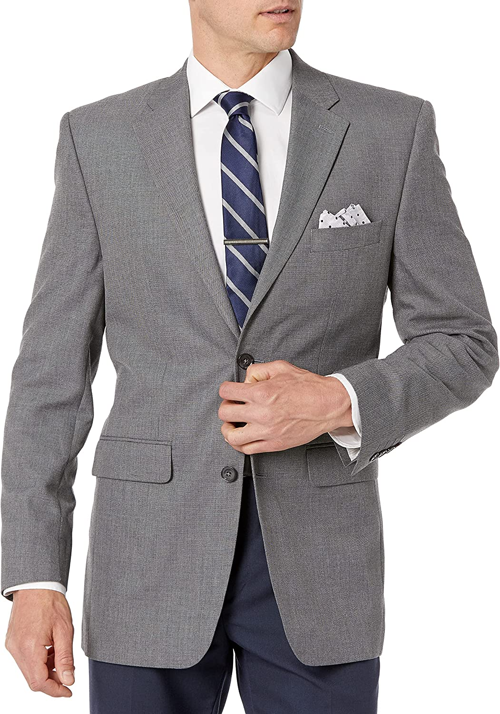 Savane Men's Tailored Jacket 2021new shipping free shipping Omaha Mall Sharkskin Suiting