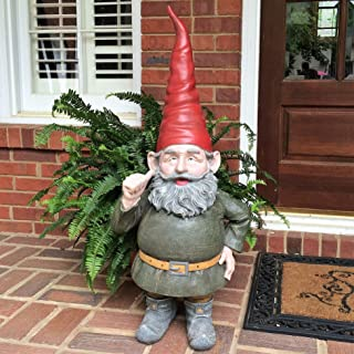 Gnomes of Toad Hollow Giant Rumple the Garden Gnome Thumbs Up Statue 34