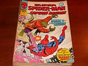 Super Spider Man and Captain Britain Marvel UK Comic Book Lot of 20 (Issues 230 231 232 234 237 238 239 242 243 245 248 249 250 253 254 256 258 260 278 and 305)