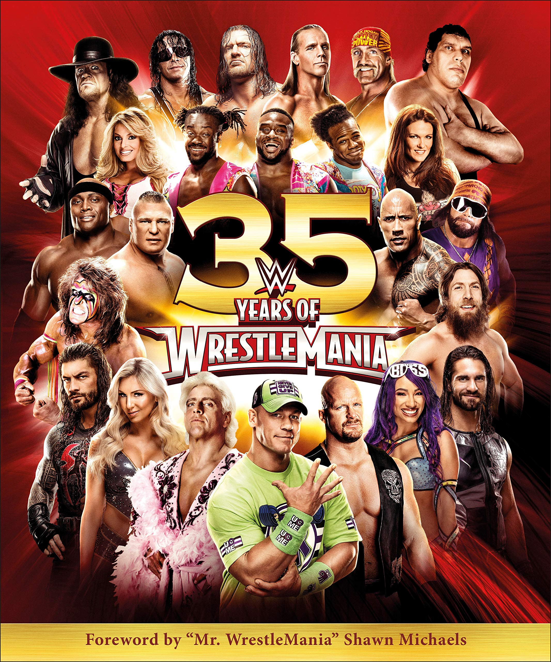 Image OfWWE 35 Years Of Wrestlemania
