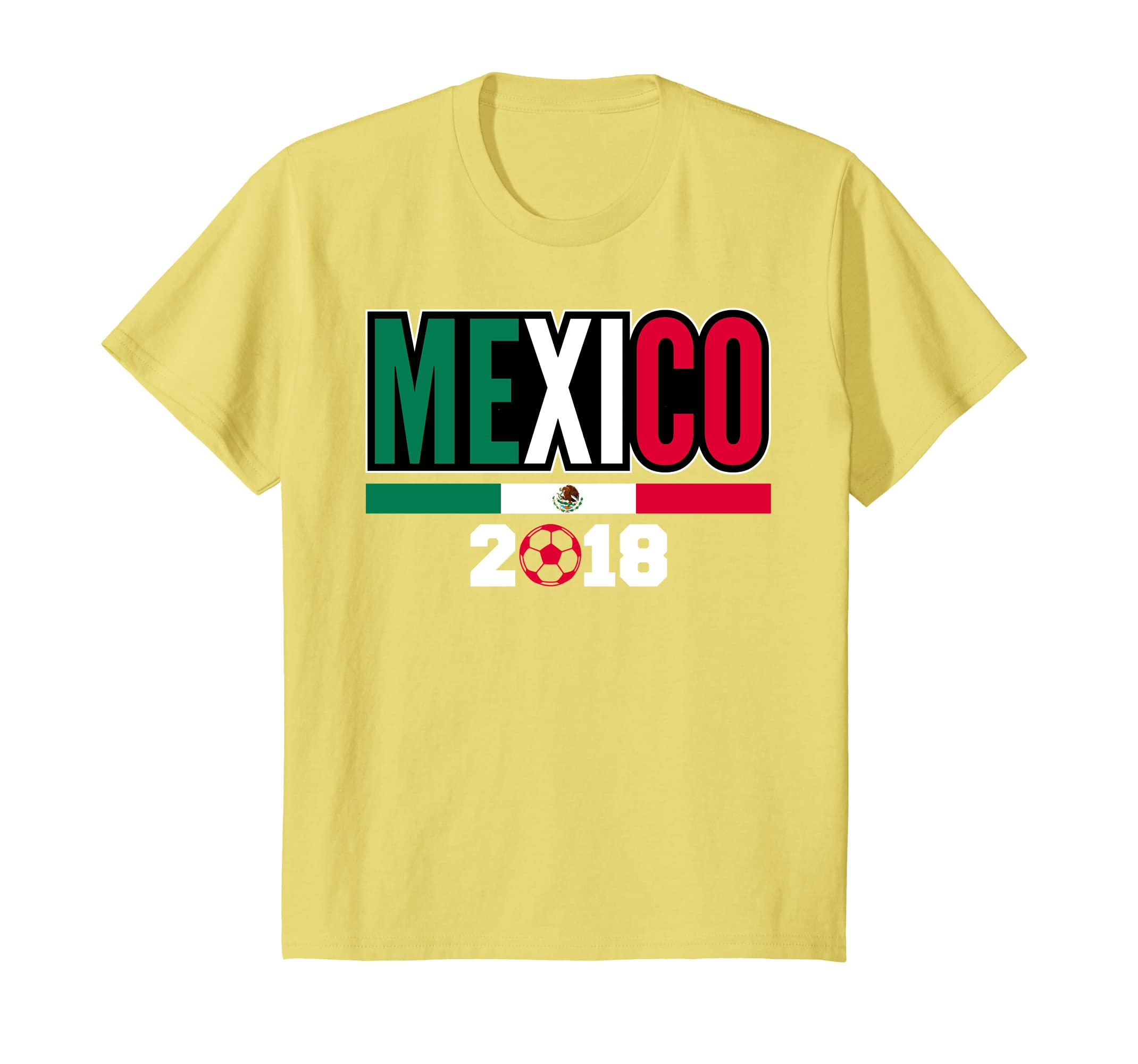 Amazon.com: Mexico Shirt 2018 Soccer Women Men Kids - Cheer Jersey Shirt: Clothing
