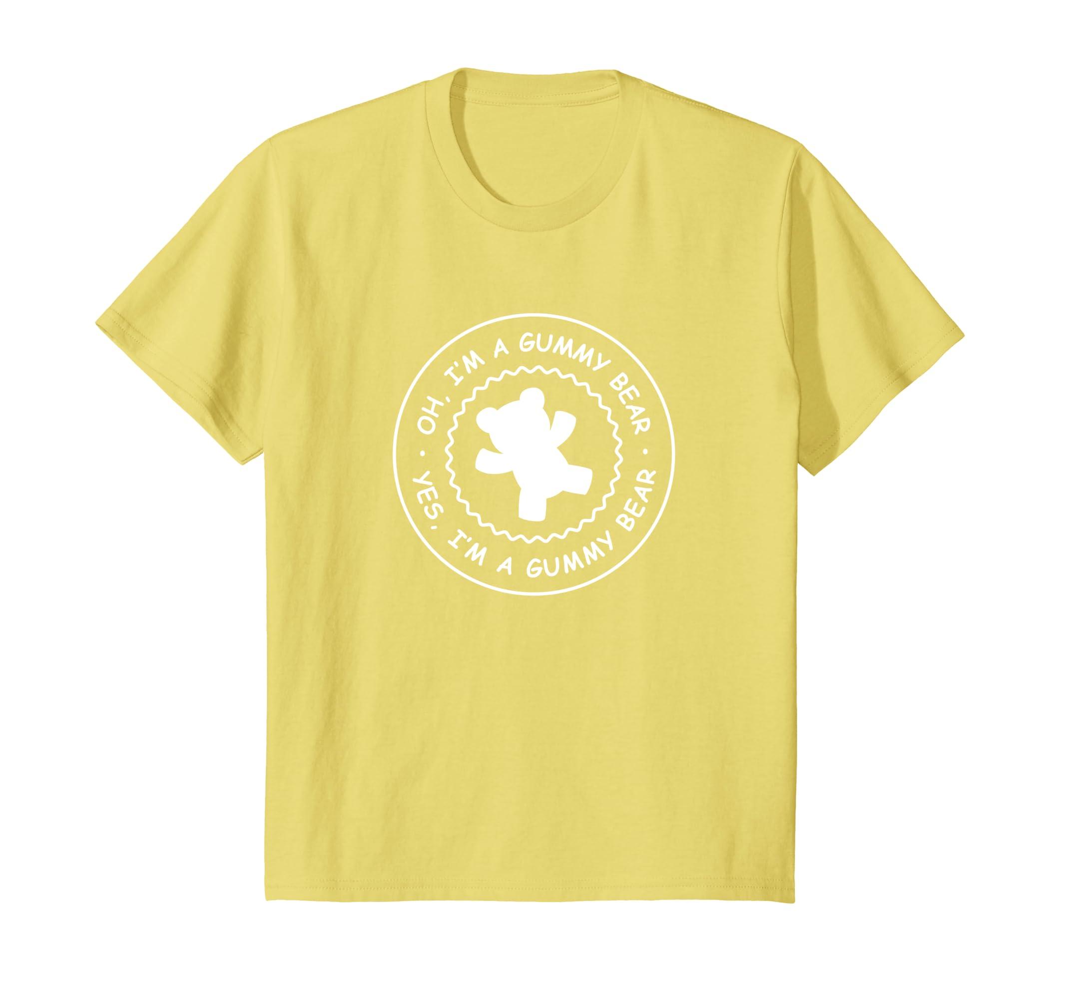 cf0b3bd18 Amazon.com: Kids Gummy Bear Shirt, I'm A Gummy Bear T-Shirt: Clothing
