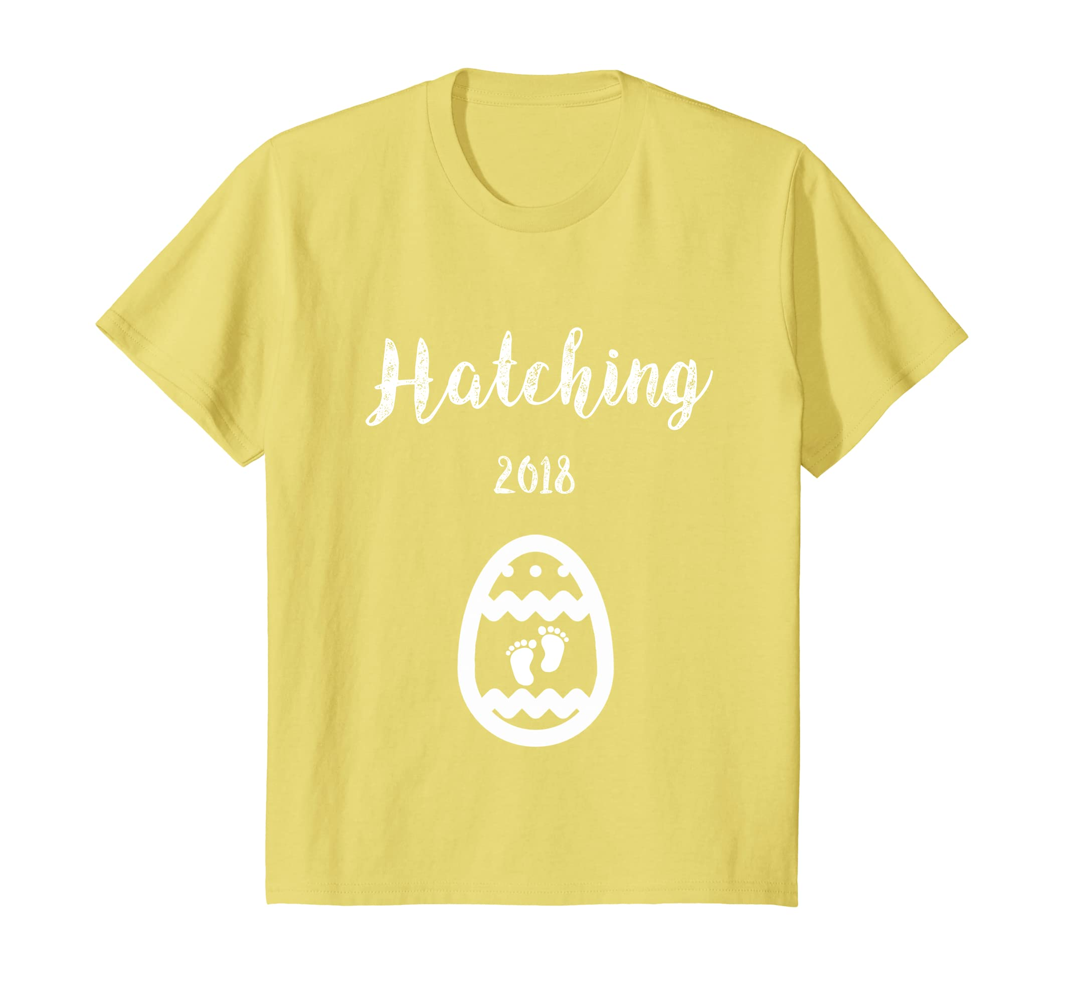 e40bbd0b Amazon.com: Easter Hatching Pregnancy Announcement Shirt - More colors!:  Clothing