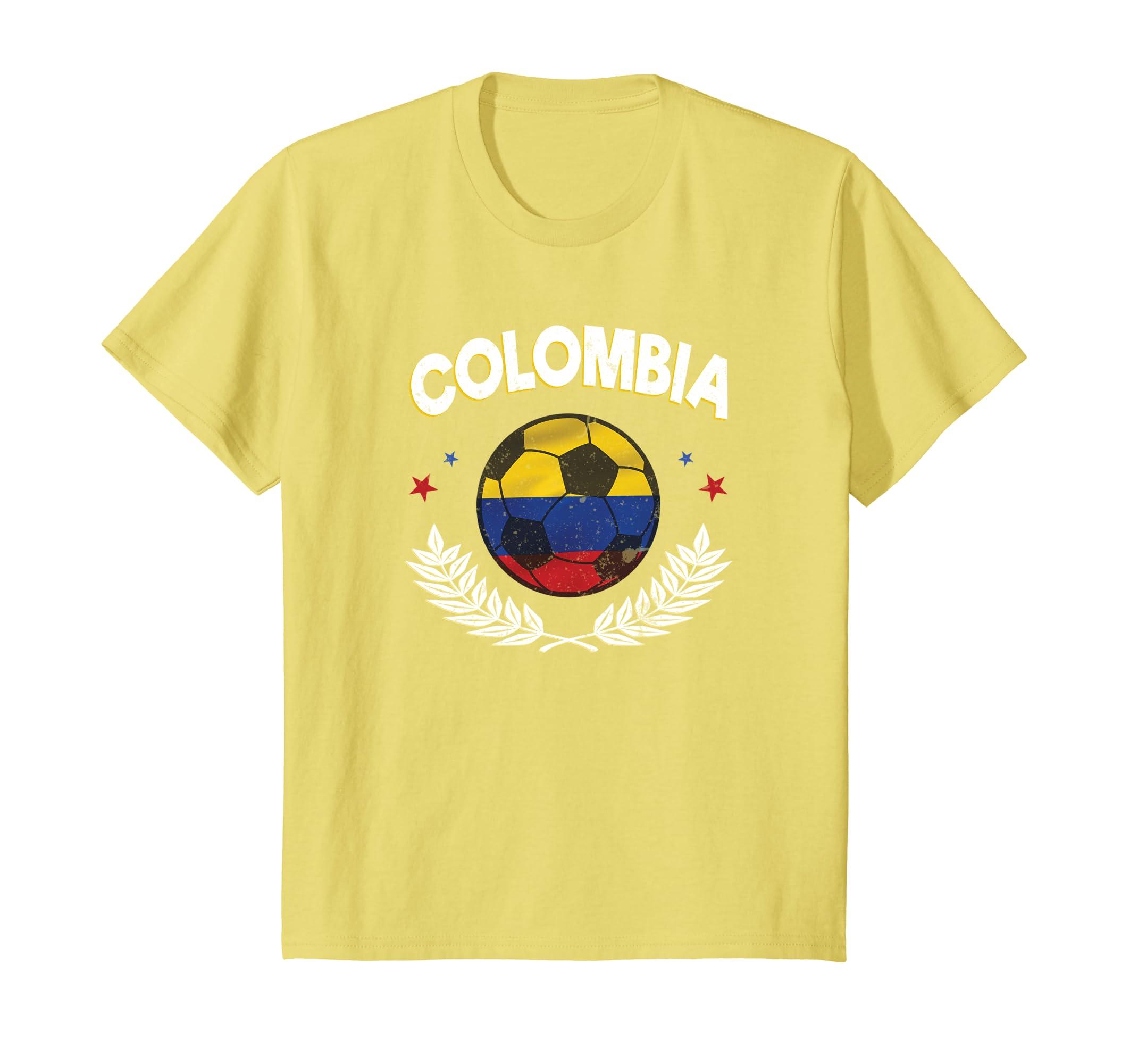 Amazon.com  Camisa de la seleccion de Colombia Mundial De Futbol Soccer   Clothing d1c97fc3d09eb