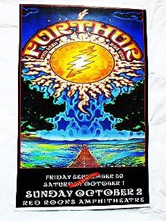 2011 Bob Weir Phil Lesh Furthur Concert Poster Red Rocks