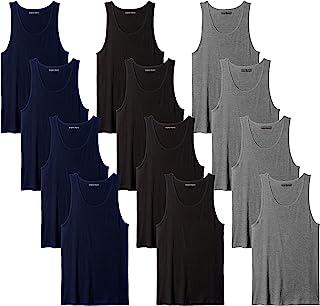 Sponsored Ad - Andrew Scott Men`s 12 Pack Color Tank Top a Shirt