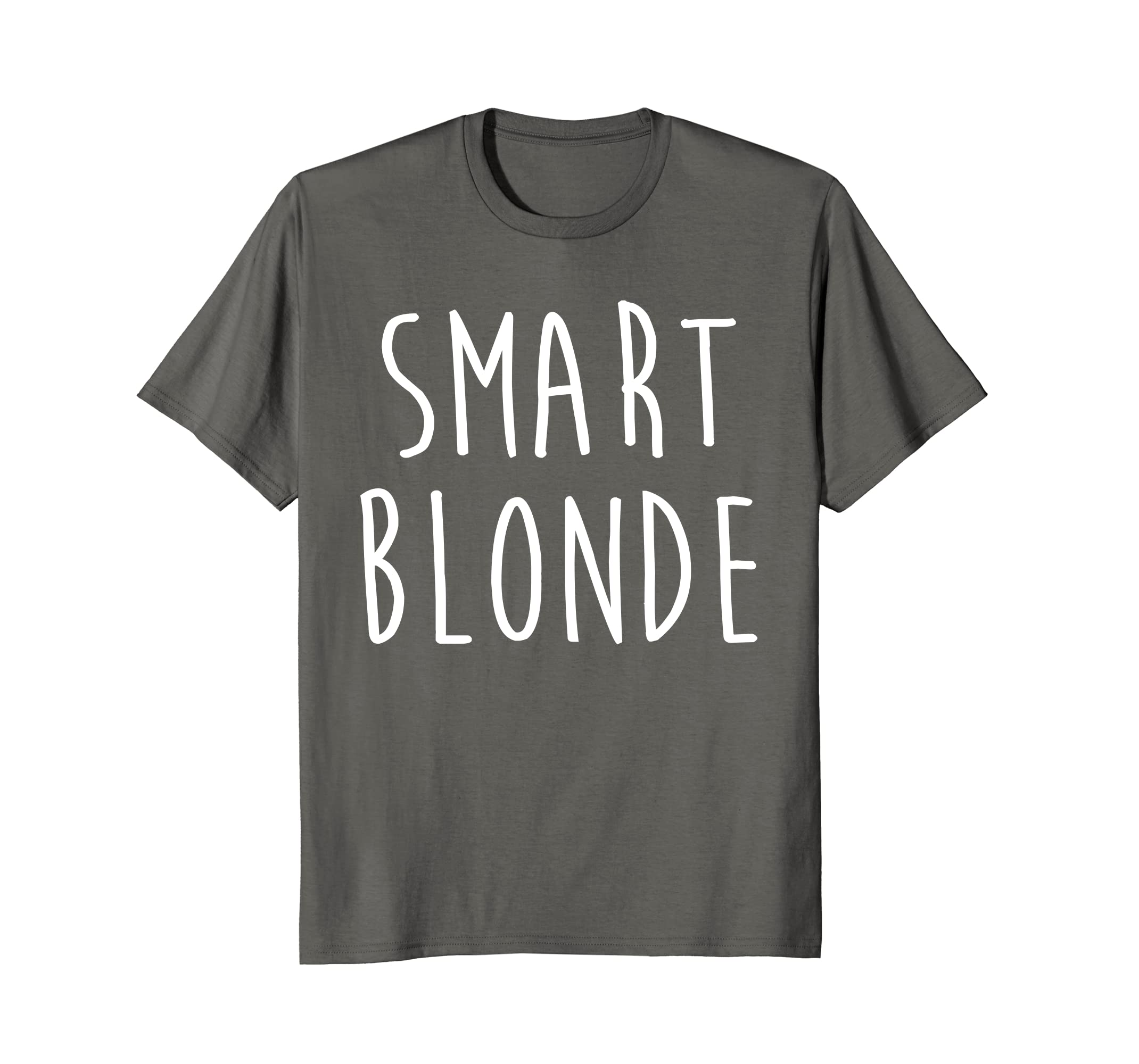 954933783903 Amazon.com  Smart Blonde T Shirts Funny Gifts For Men Women  Clothing