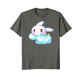 Image Unavailable. Image not available for. Color  Pastel Goth Shirt Kawaii  Bunny Cute Japanese Anime 3611e06df