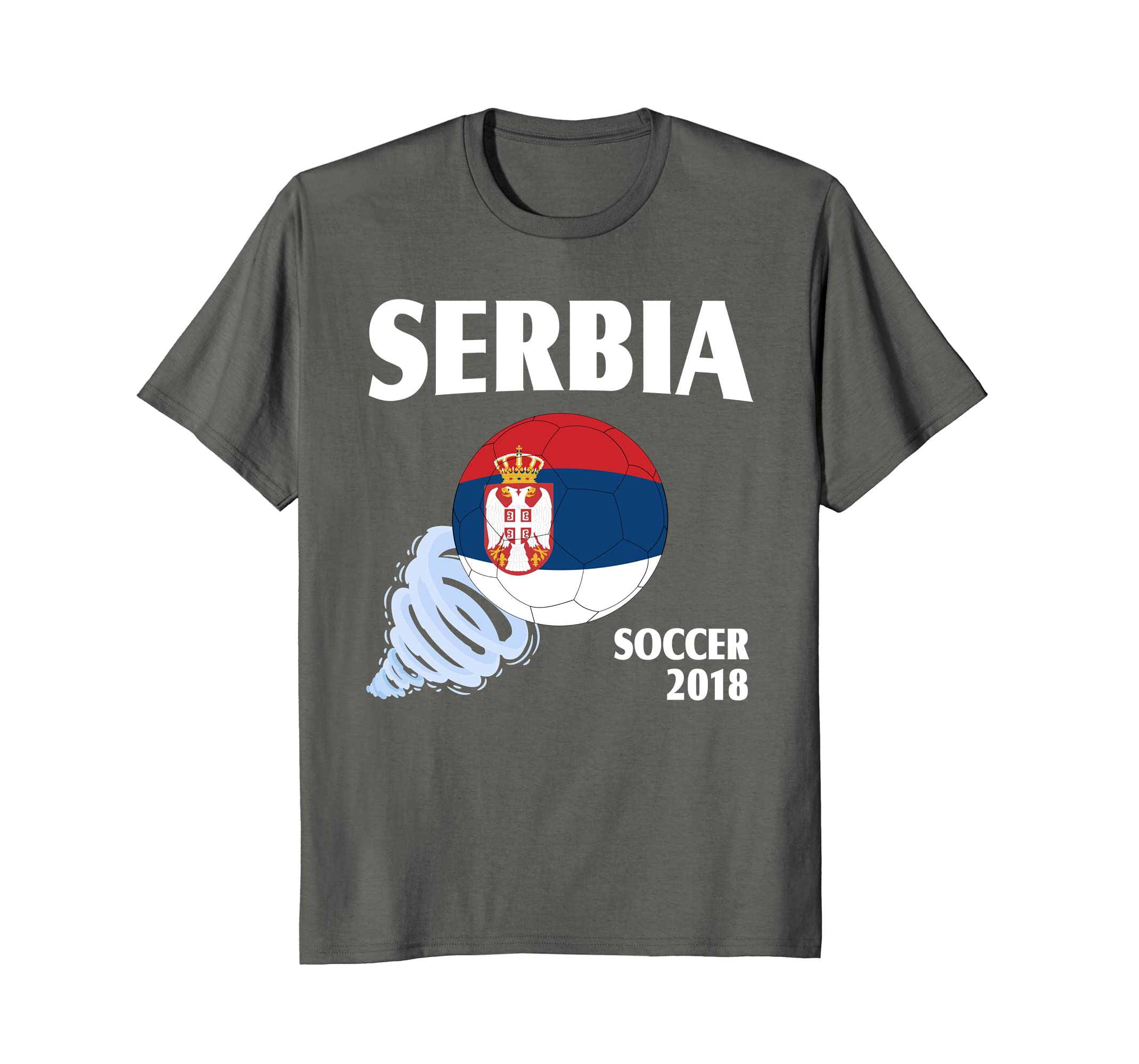 d38beb44a47 Amazon.com: Serbia Soccer 2018 Serbian Football Team Fan T-Shirt: Clothing