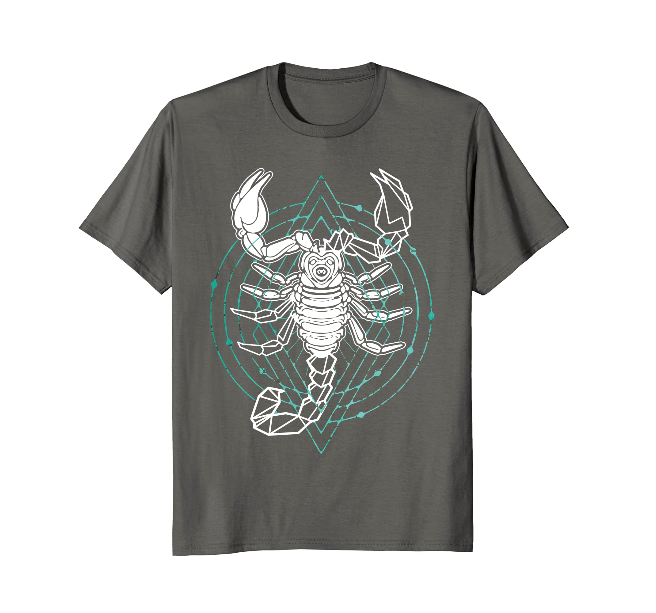 Amazon Scorpion Geometric Tribal Design T Shirt Clothing