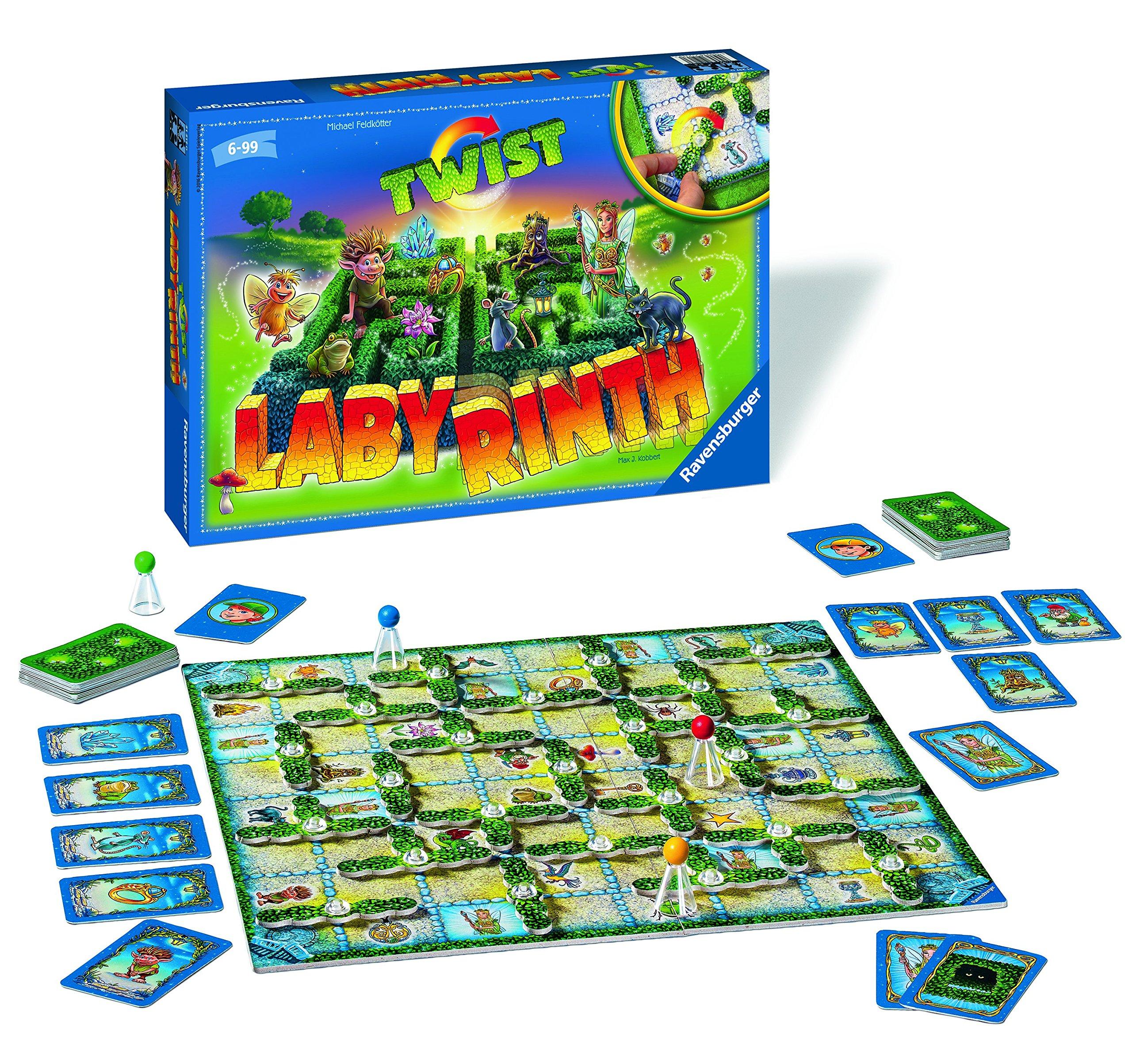 Ravensburger The Lion Guard - Twist Labyrinth, Juego de Mesa 212170: Amazon.es: Juguetes y juegos