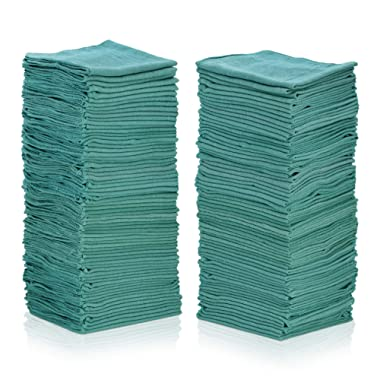Simpli-Magic 79260 Shop Towels 12 x14 , 50 Pack, Green