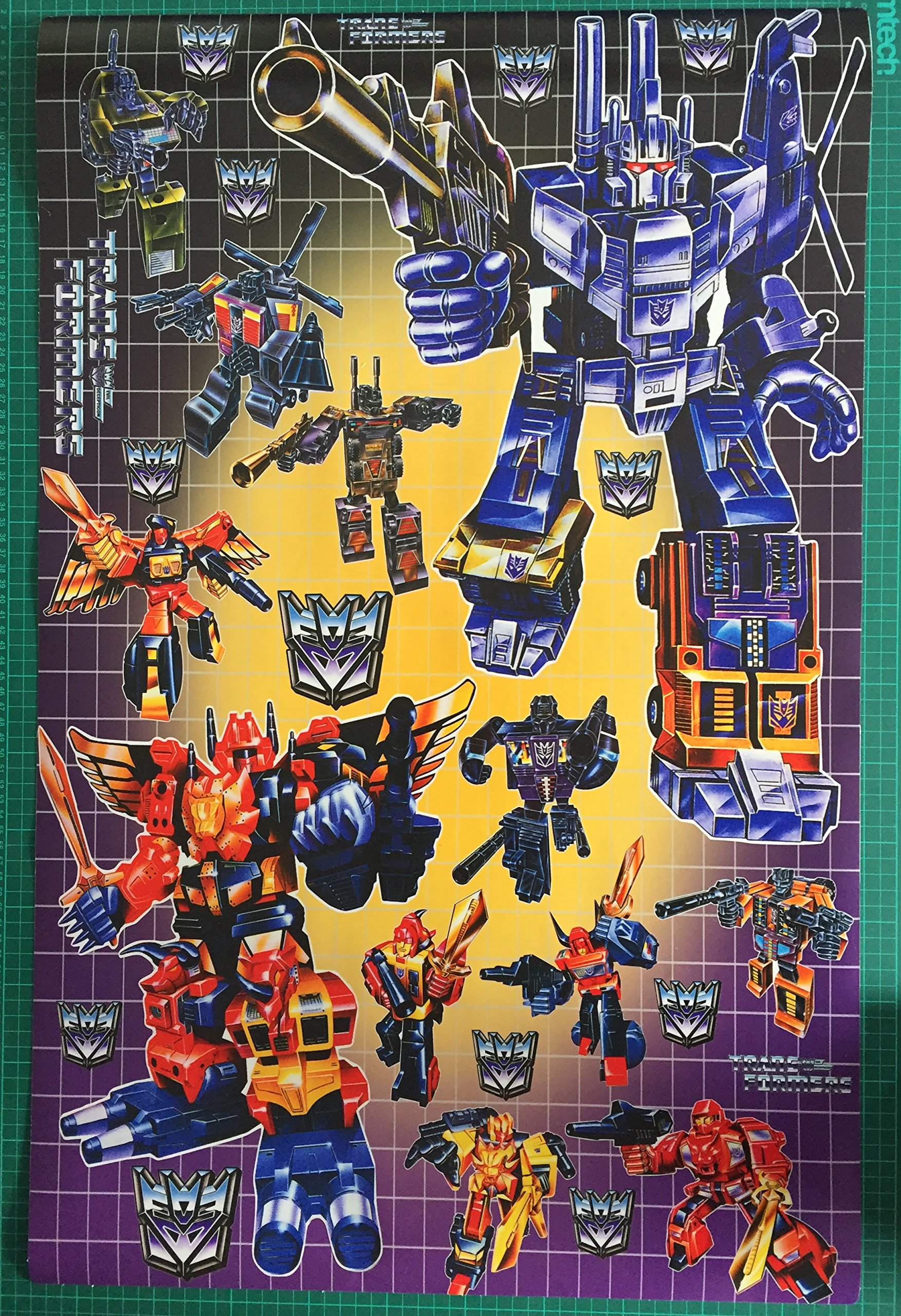 Transformers G1 caja Art Decepticon bruticus, predaking etc ...