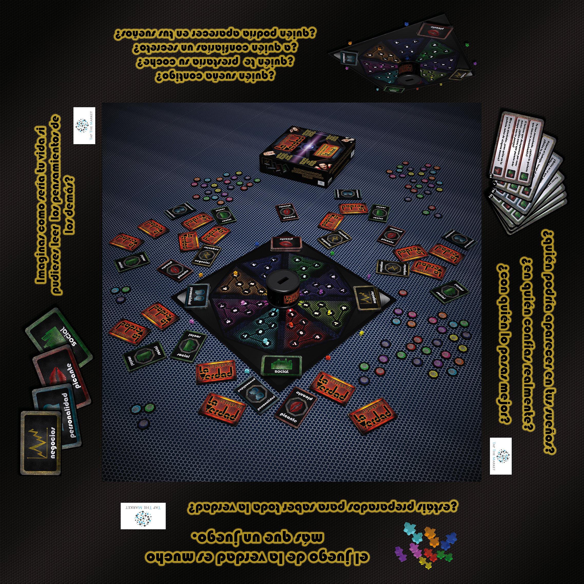Abba games - El Juego de la Verdad Edicion Gran Hermano 15: Amazon.es: Juguetes y juegos