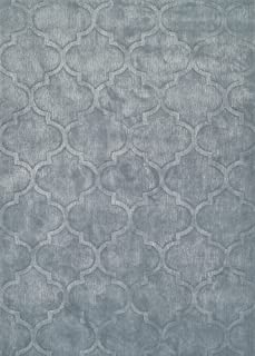 Couristan Matrix Collection Karma Rug, Ice Blue