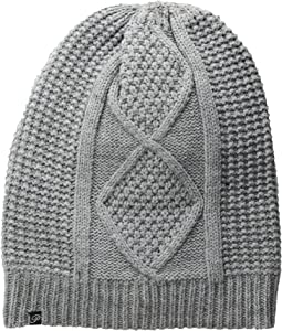 Plush - Fleece-Lined Cable Knit Beanie