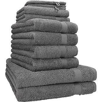 Handtuch 4er Set Handtücher Duschtücher Duschtuch Badetücher Gästetuch Baumwolle