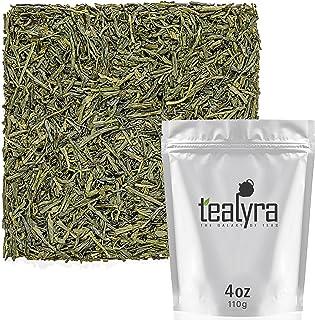 Tealyra - Sencha Fukujyu - Premium Japanese Green Loose Leaf Tea - Organicaly Grown - Antioxidants Rich - Caffeine Medium ...