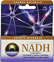 SOURCE NATURALS Nadh 5 Mg Enteric Coated Box Tablet, 30 Count
