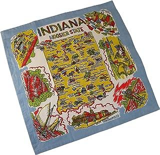 Indiana State Souvenir Dish Towel