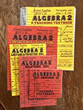 Teaching Textbooks Algebra 2 Textbook, Answer Key & Test Bank, CDs-Lecture &Practice, Solutions, Test Solutions