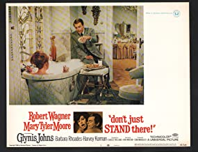 MOVIE POSTER: Don't Just Stand There Lobby Card #3-Robert Wagner and Mary Tyler Moore