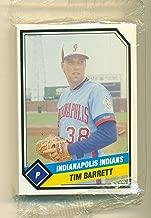 1989 ProCards Indianapolis Indians Minor League Team Set - Baseball Card