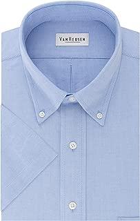 Men's Short Sleeve Oxford Dress Shirt