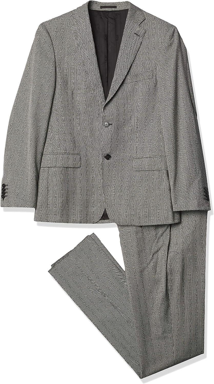 Versace Collection Men's Textured Suit