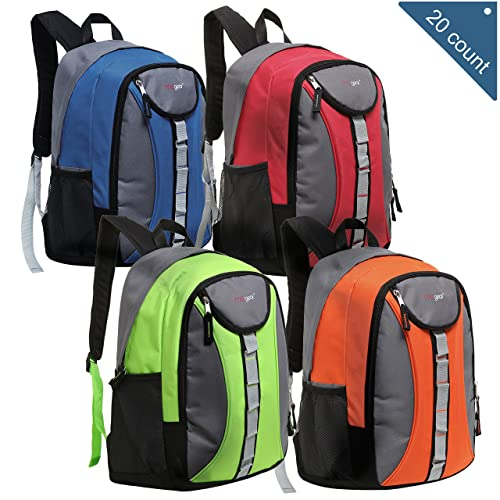 14c4916d922f Wholesale 18 Inch Heavy Duty School Backpacks - Case Pack of 20 MGgear  Bookbags