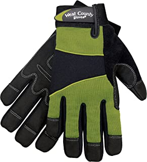 West County Gardener 012S/M Women's Work Glove, Medium, Stem