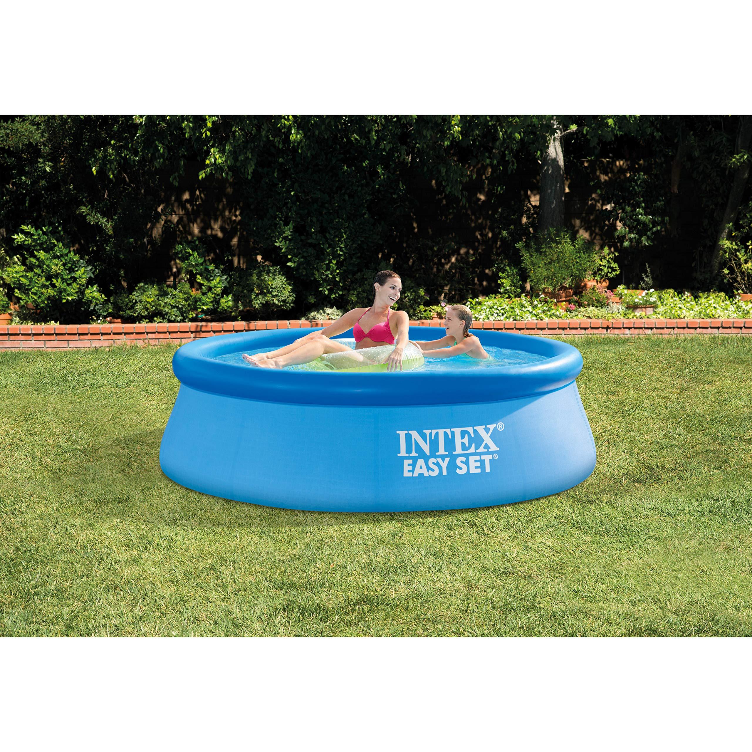 Kit piscina sobre suelo Easy Set: Amazon.es: Jardín
