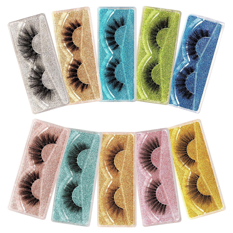 Winifred False Eyelashes Natural Fluffy 10 Fake 3D Sty Animer and price revision Fashionable